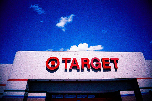 Target-walk of shame-