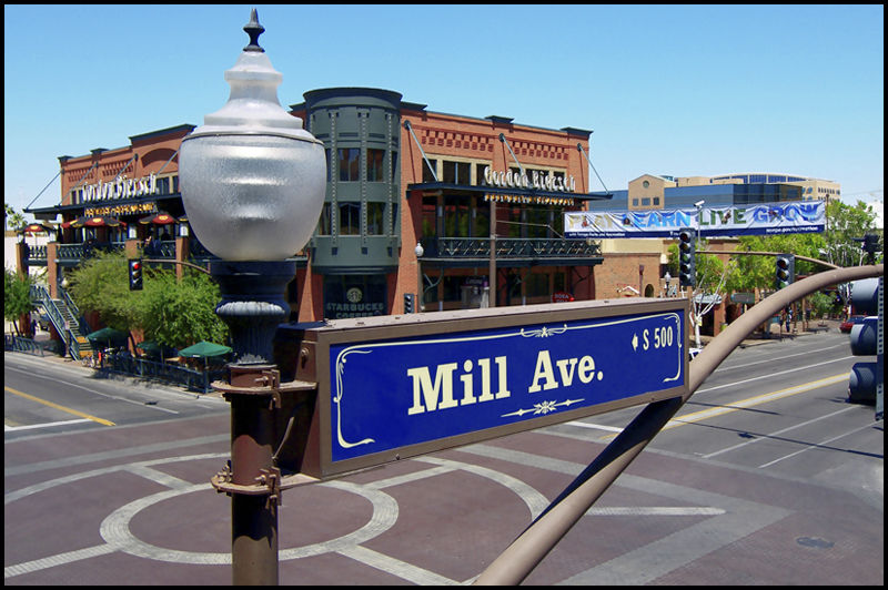 Julian Wright, Mill Avenue, Tempe